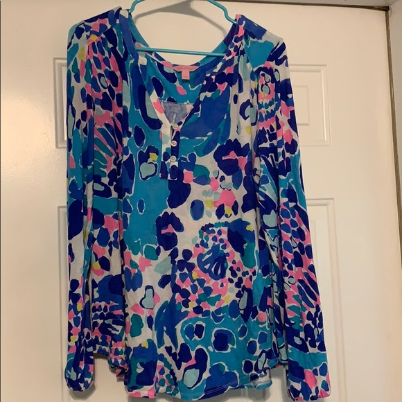 Lilly Pulitzer Tops - Lily Pulitzer Size Large